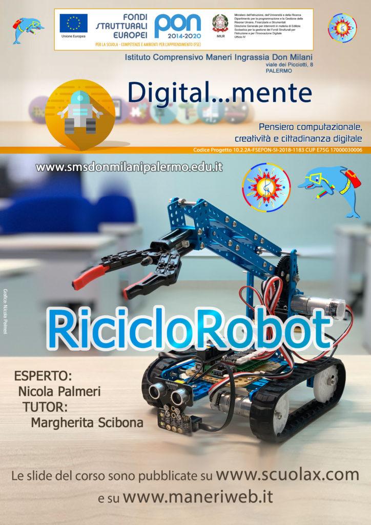 RicicloRobot - PON Nicola Palmeri